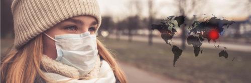 Le coronavirus et la pénurie de masque en France